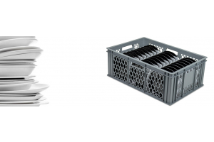NEW Plate Wash & Store Crate Range