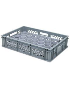 33 Compartment Base Section Euro Crate Divider Insert