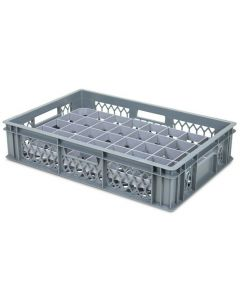 40 Compartment Base Section Euro Crate Divider Insert