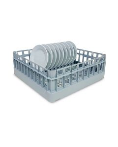 500mm Glasswasher Basket With Plate Insert