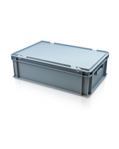 Hinged Lid Container L600xW400xH195mm