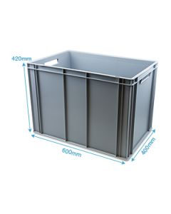 Heavy Duty Plastic Container L600 X W400 X H420MM