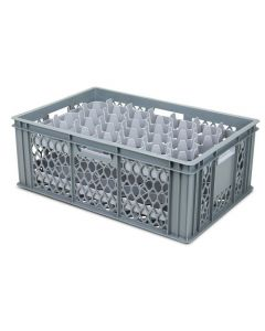 33 Compartment Top Section Euro Crate Divider Insert