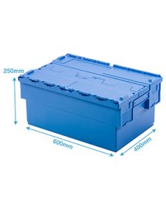 Attached Lid Container 48 Litre