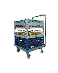 Dishwasher Rack Trolley with Handle 500x500mm