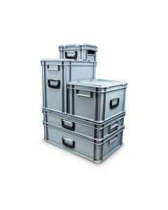 Euro Container Case L600xW400xH195mm