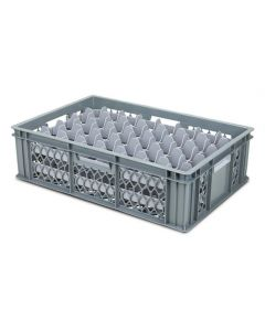 40 Compartment Top Section Euro Crate Divider Insert