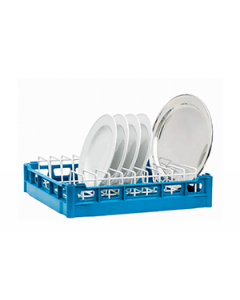 Plate Rack With Coated Wire Insert