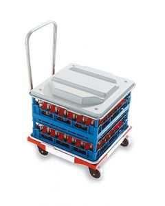 Dishwasher Rack Dolly with Handle