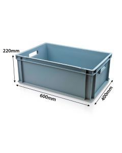 Solid Plastic Containers