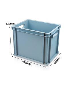 Stackable Plastic Euro Container