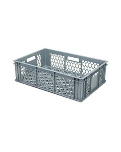 Perforated Stacking Euro Crate L600xW400xH170mm