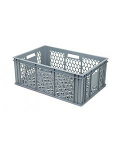 Ventilated Stackable Storage Crate L600xW400xH220mm
