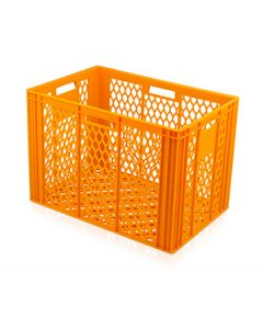 Large Perforated Euro Container L600xW400xH420mm